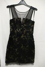 BCBG MAXAZRIA ABIGAIL BLACK DRESS NEW WITH TAGS SIZE 4 (CHA)