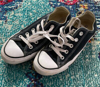 Converse All Star Chuck Taylor Women's Low Top 6 Black Sneakers
