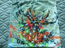 QUIRKY STUNNING 2 Multi Colour Velvet Cushion Covers BNWT REDUCED