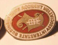 Ibaa Interstate Business Men's Vintage Screw Back Lapel Pin gift