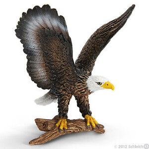 NEW SCHLEICH 14634 Bald Sea Eagle Bird - RETIRED