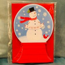 "Christmas Blank Cards /& Packs /""Christmas Nutcracker Snowglobe/""  FREEPOST"
