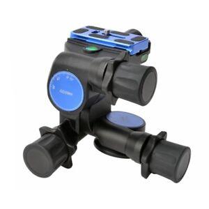 Pro BENRO GD3WH Tripod Geared Head + PU70 QR Plate for DSLR Canon Sony Nikon Kj