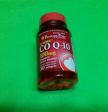 Coenzima Co Q-10 Q10 100 mg 30 perlas PURITAN¨S PRIDE