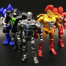 8Pcs Real Steel Zeus Atom Midas Noisey Action Figure Kid Toy Birthday Gift 13cm