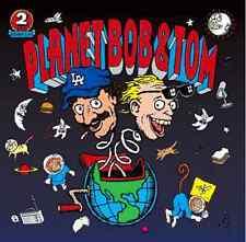 """BOB & TOM """"Planet Bob & Tom"""" (2-CD 1995) 73-Tracks ***VERY GOOD***"""