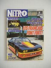 NITRO n°38 juillet 1984-504 COUPE-ARONDE P 60-KARMAN CABRIOLET-FIAT 850-R 4