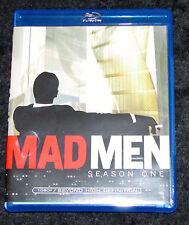 Mad MEN SEASON ONE 1 3 Disc Set John Hamm Blu Ray angezeigt sobald N MINT