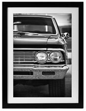 1966 Chevrolet Chevelle SS Photo Print Art 13x19 Garage 454 427 Muscle Car Chevy