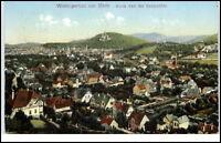 Wernigerode Harz alte color AK 1909 gelaufen Gesamtansicht von der Sennhütte