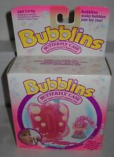 #6896 RARE NRFB Vintage Hasbro Bubblins Butterfly Case w/Flutter Pretty Doll