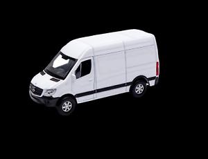 Mercedes-Benz Sprinter 2020 White Delivery Van 1:43 Scale Diecast Metal Toy NEW