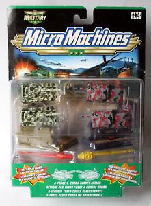 1999 MICRO MACHINES MILITARY A-FORCE V. COBRA TURRET ATTACK TANK HASBRO NEW !