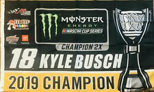 WinCraft Kyle Busch 2019 Cup Series Champion 3x5 Foot Flag