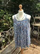 Ladies Old Navy (GAP) Loose Summer Print Strappy Top Tunic Size XS NWT