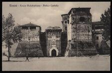 cartolina RIMINI rocca malatestiana-antico castello