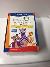 Baby Einstein DVD Collection 1 Math Science Language Art Walt Disney