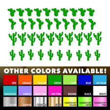 40 Cactus desert Stickers Nursery Decal for Diy kids play room wall window decor