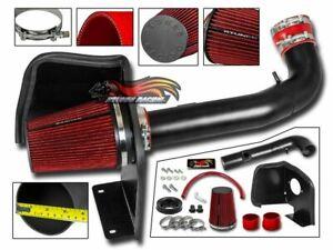 RTunes V2 For 2009-2013 Silverado Sierra V8 Heat Shield Air Intake Kit +Filter