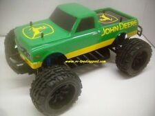 John Deere 1972 Chevy C10 Custom 4X4 PRO Brushless 1/10 RC Monster Truck  45+MPH