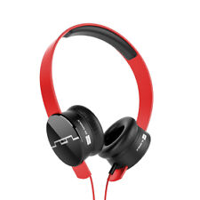 Sol Republic Tracks on Ear Hedaphones With in Line Controls V8 Sound Engine Red