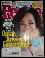 OPRAH People Magazine 3/12/18 March 12 2018 Heather Locklear MINT NBR Free Ship
