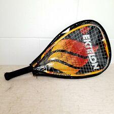Ektelon Racquetball Racquet Longbody Comp F3 w/ Cover PLASTIC BROKEN ON TOP