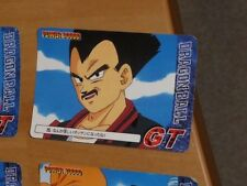 DRAGON BALL GT Z DBZ POWER BATTLE CARD JAPANESE CARTE 25 MADE IN JAPAN 1996