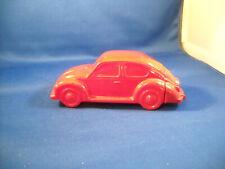 Avon Red Volkswagen Bug Decanter No Box 1972