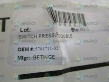 GETINGE PRESSURE DOUBLE SWITCH 5701711-02 *NEW NO BOX*
