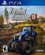 Farming Simulator 15 (Sony PlayStation 4, 2015) Brand New Free Shipping