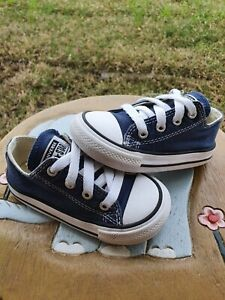 Converse Low Blue Toddler 6C