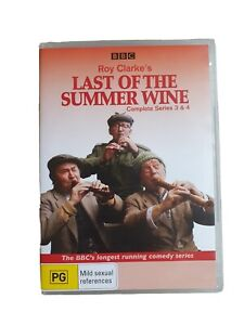 Roy Clarkes Last of The Summer Wine Series 3 & 4 DVD BBC - DISC 2 & 3 ONLY