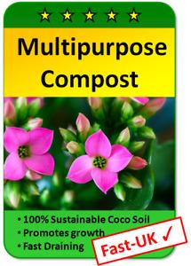 Potting Compost for House Plants - Peat Free Soil Blocks - Sizes: 1-22 Litres