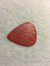 Guitar Pick Rick Nielsen Cheap trick tour issue Red pick No lot