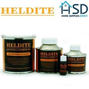 Heldite Gasket Jointing Compound & Universal Sealant Thread Lock Pipe Sealer NEW