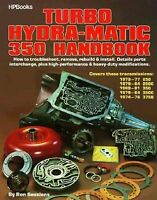 Chevy Turbo 350 Hydramatic Automatic Transmission Book Manual