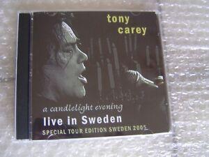 Tony Carey, Mega Seltene Live Doppel CD, A Candlelight Evening Live Sweden 2005