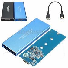 USB 3.0 to NGFF M.2 B Key SSD Adapter Card External Enclosure Case Cover Kits