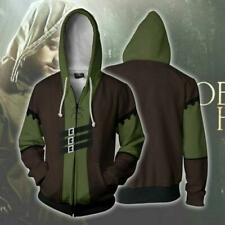 HOT Robin hoodie Sweatshirt Cosplay Costume coat jacket