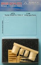 Aires 1/48 Focke Wulf Fw190A-3 Aile Pistolet Compartiments pour Hasegawa kit #