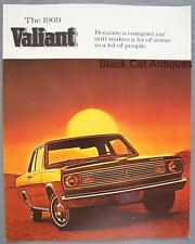 Original 1969 Chrysler Valiant 100 & 200/Signet 2/4 Door Sedans Dealer Brochure