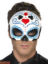 Smiffys 44648 Day of The Dead Eye Mask (one Size)