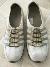 WOMENS, SKECHERS, SLIP ON SHOES, SIZE UK 7, US 10, BROWNS & BEIGES, COMFORTABLE