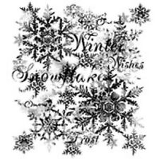 Woodware Clear Singles Magic Stamp -Snowflake FRS027