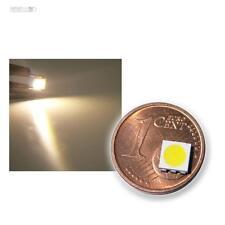 10 Stück SMD LED 5050 3-Chip warmweiß HIGHPOWER - warm-weiße SMDs LEDs white SMT