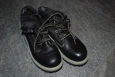 TIMBERLAND | tolle Schuhe Boots Stiefel SCHWARZ | Glattleder Gr. 30 31 | USA 13M