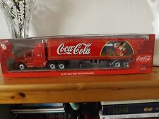 LARGE 17.5 Ins.LONG COCA COLA 2003 FORD CHRISTMAS LIGHT UP TRUCK NEW  IN BOX.