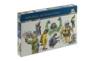 Italeri 1246 NATO Pilots and Ground Crews 1/72 Scale Plastic Model Kit