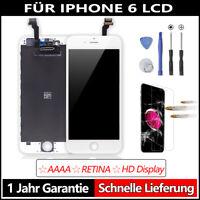 """LCD Display für iPhone 6S Weiß 4.7"""" Bildschirm Apple Ersatz 3D-Touch Panzerfolie"""
